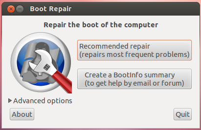 repair the boot of the-computer